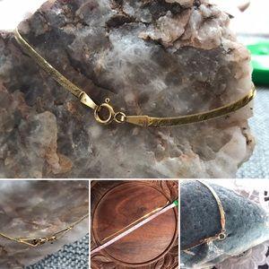 """Jewelry - 14 KT Italy Gold 8"""" Bracelet"""